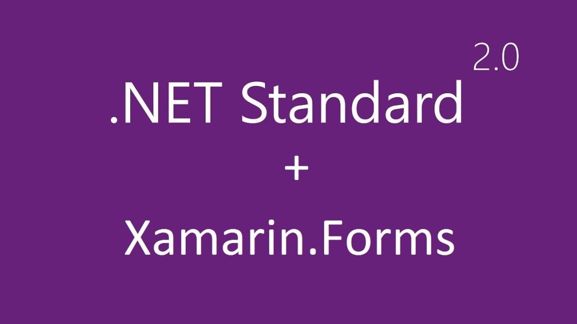 Xamarin.Forms'da Kod Paylaşımı İçin .NET Standard 2.0Kullanımı