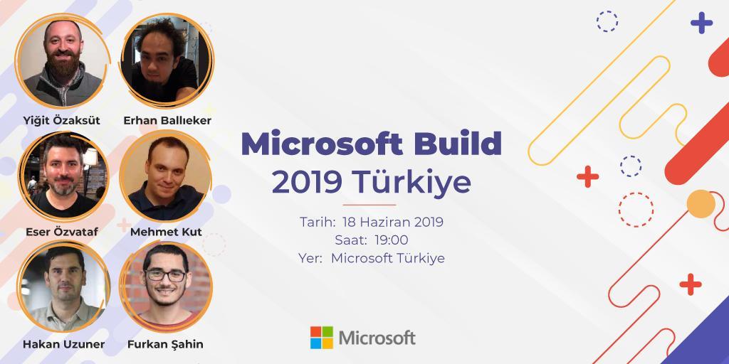 Microsoft Build 2019 TürkiyeEtkinliği